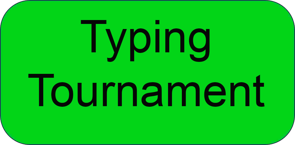 Typing Tournament Button